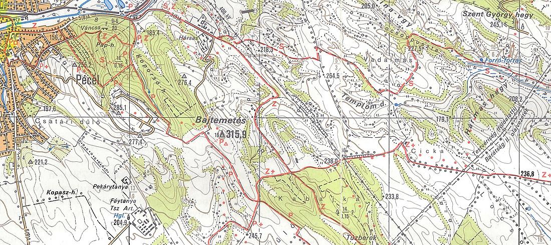 pécel térkép Lemaradás 25   Pécel  2009.04.18. pécel térkép