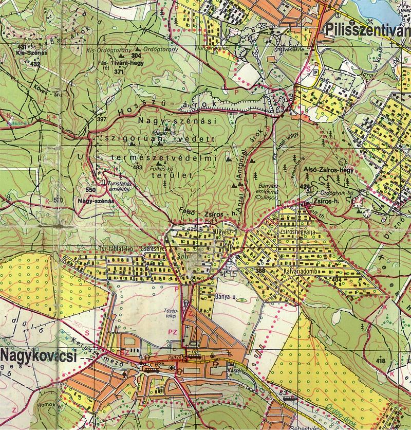 nagykovácsi térkép Téli teljesítménytúra   2011.01.29. nagykovácsi térkép