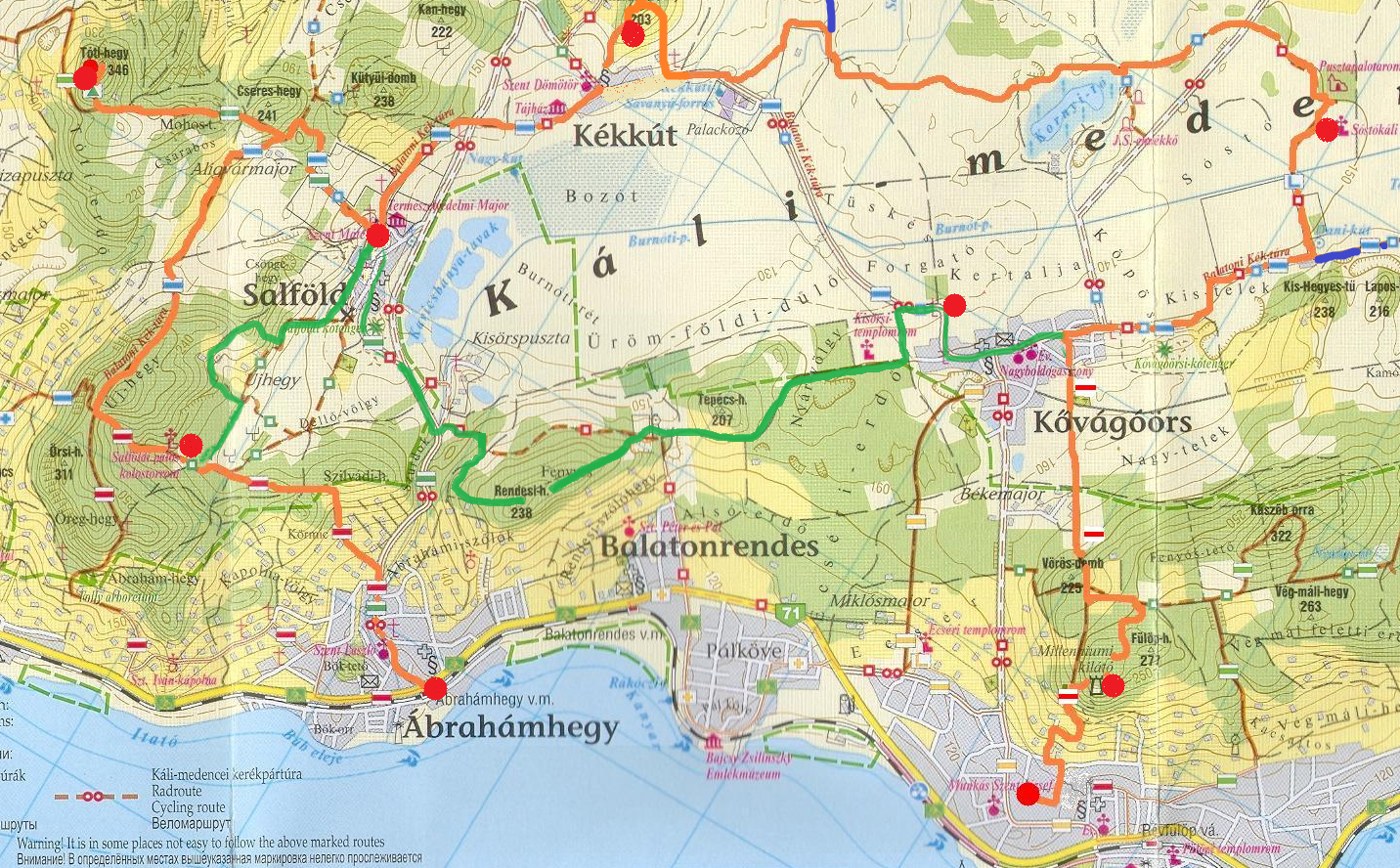 káli medence térkép Káli 30   2011.05.07. káli medence térkép