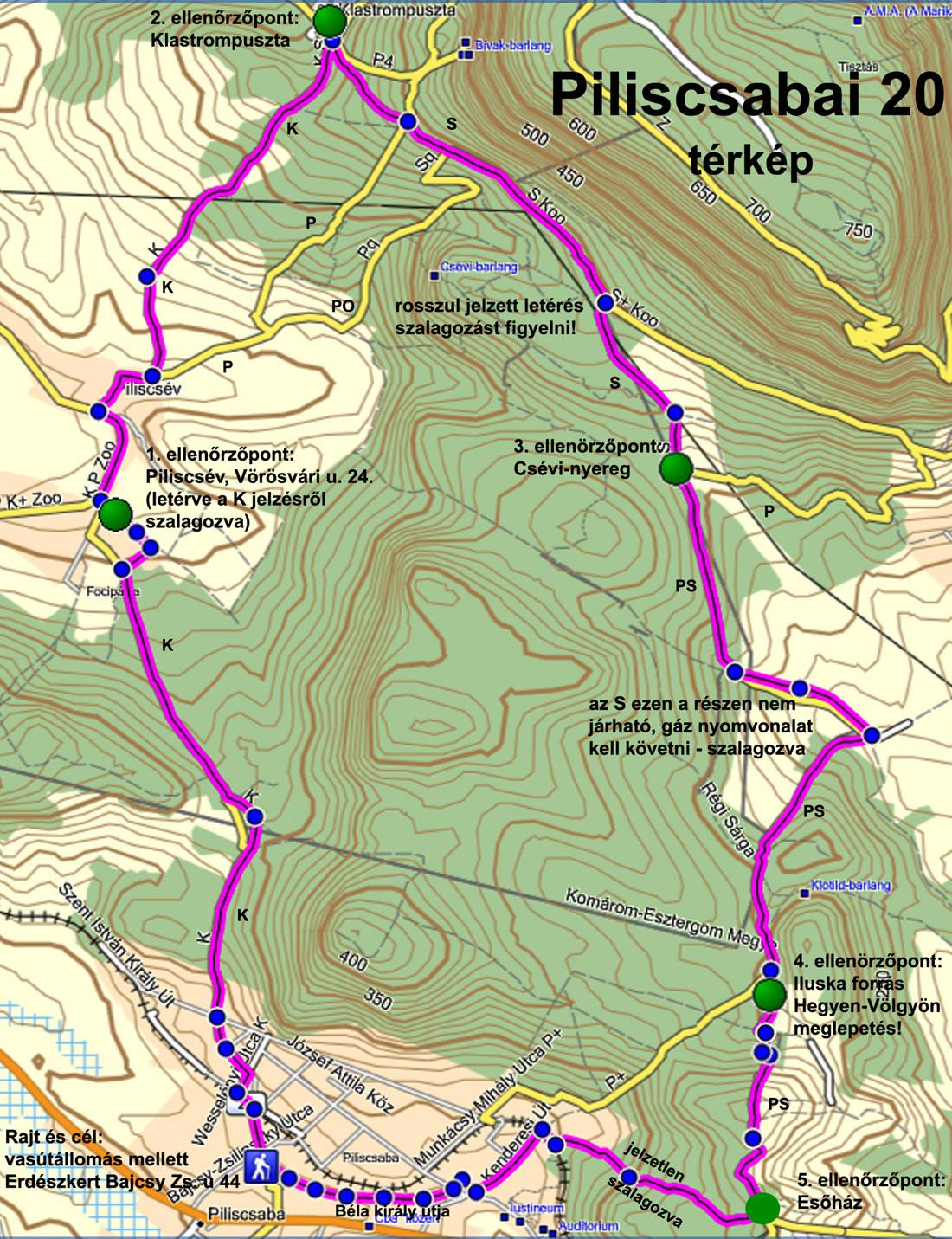 piliscsaba térkép Piliscsaba 30   2011.05.21. piliscsaba térkép