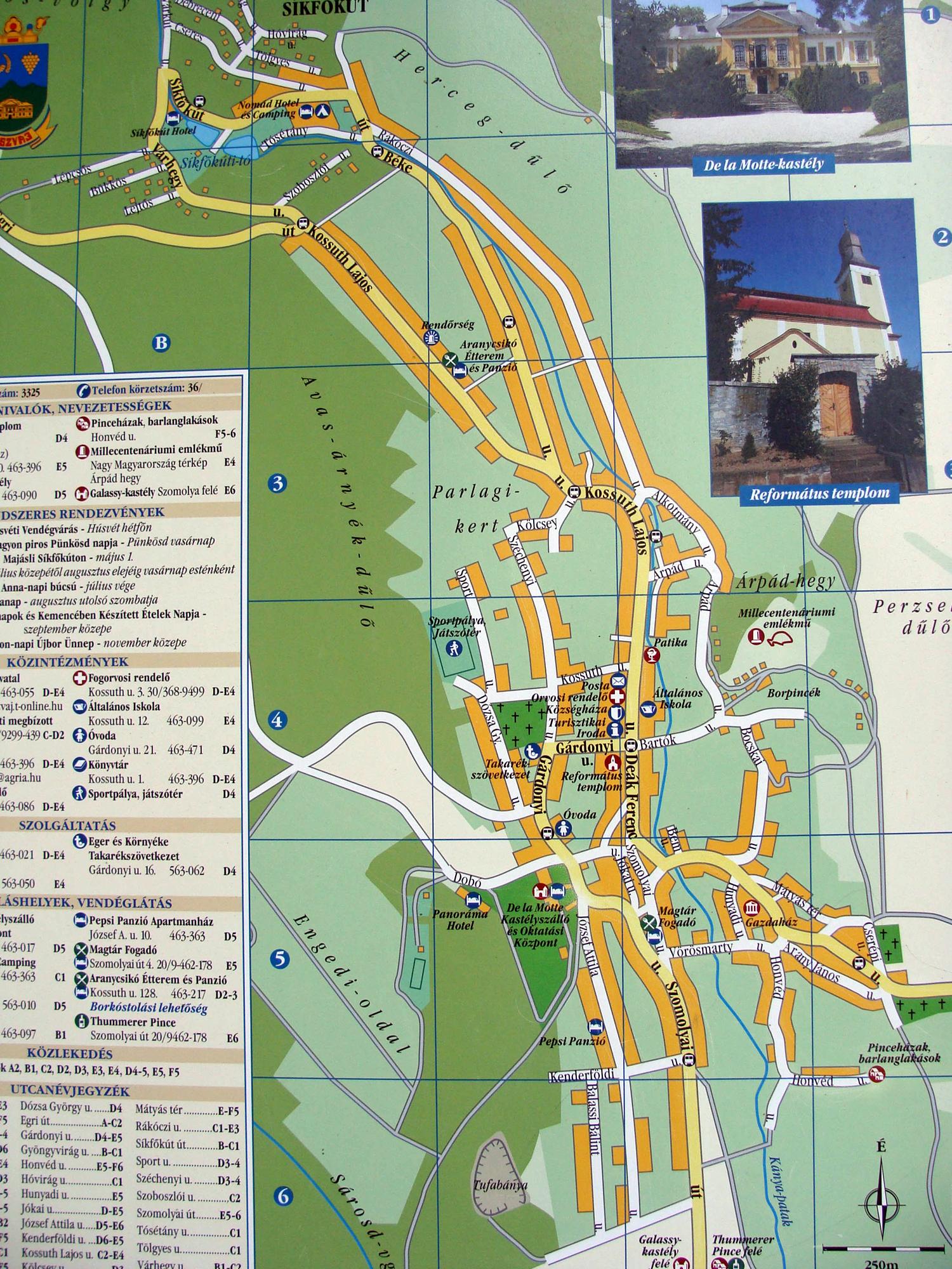 noszvaj térkép Szilveszter Noszvaj 2011.12.30 2012.01.02