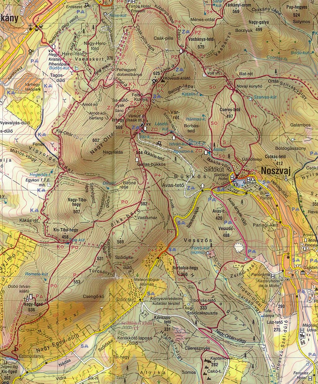 noszvaj térkép Szilveszter Noszvaj 2011.12.30 2012.01.02 noszvaj térkép