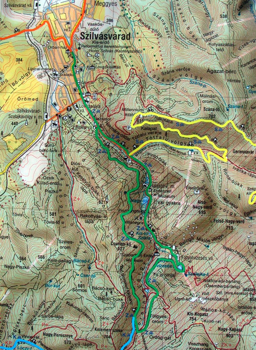 szalajka völgy térkép Szalajka völgy   2012.04.20. szalajka völgy térkép
