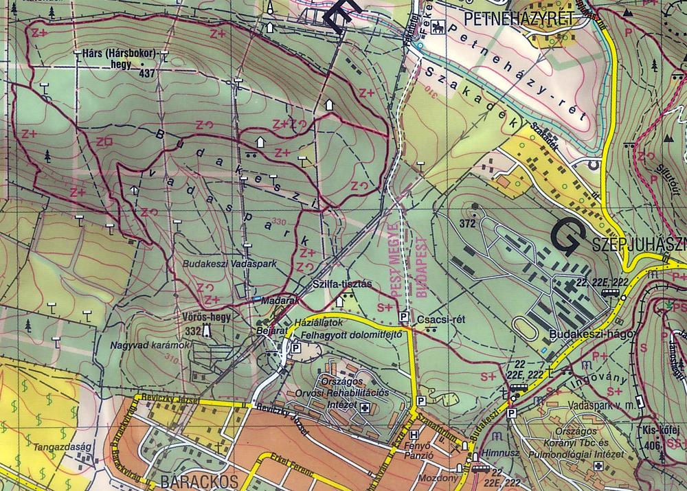 budakeszi térkép Gyertek ki a Vadasparkba!   2012.05.20. budakeszi térkép