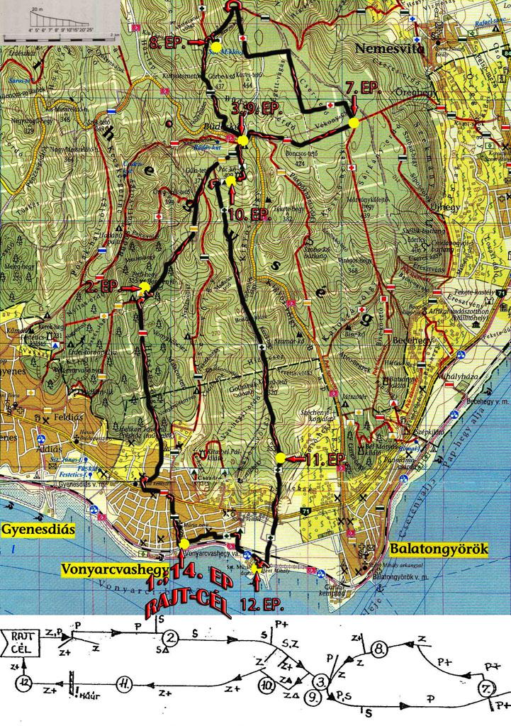 balatongyörök térkép Lepke 25   2013.03.23. balatongyörök térkép