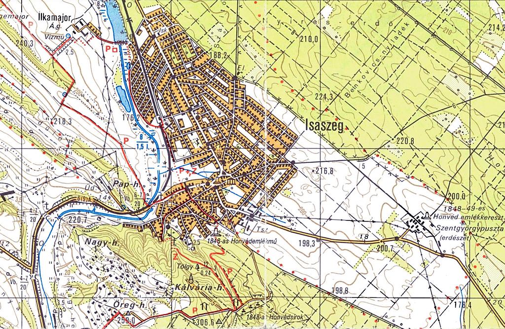 isaszeg térkép Isaszegi csata emléktúra 15   2013.04.07. isaszeg térkép