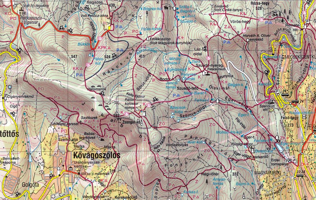 mecsek térkép Éger völgy 20   Mecsek   2013.10.23. mecsek térkép
