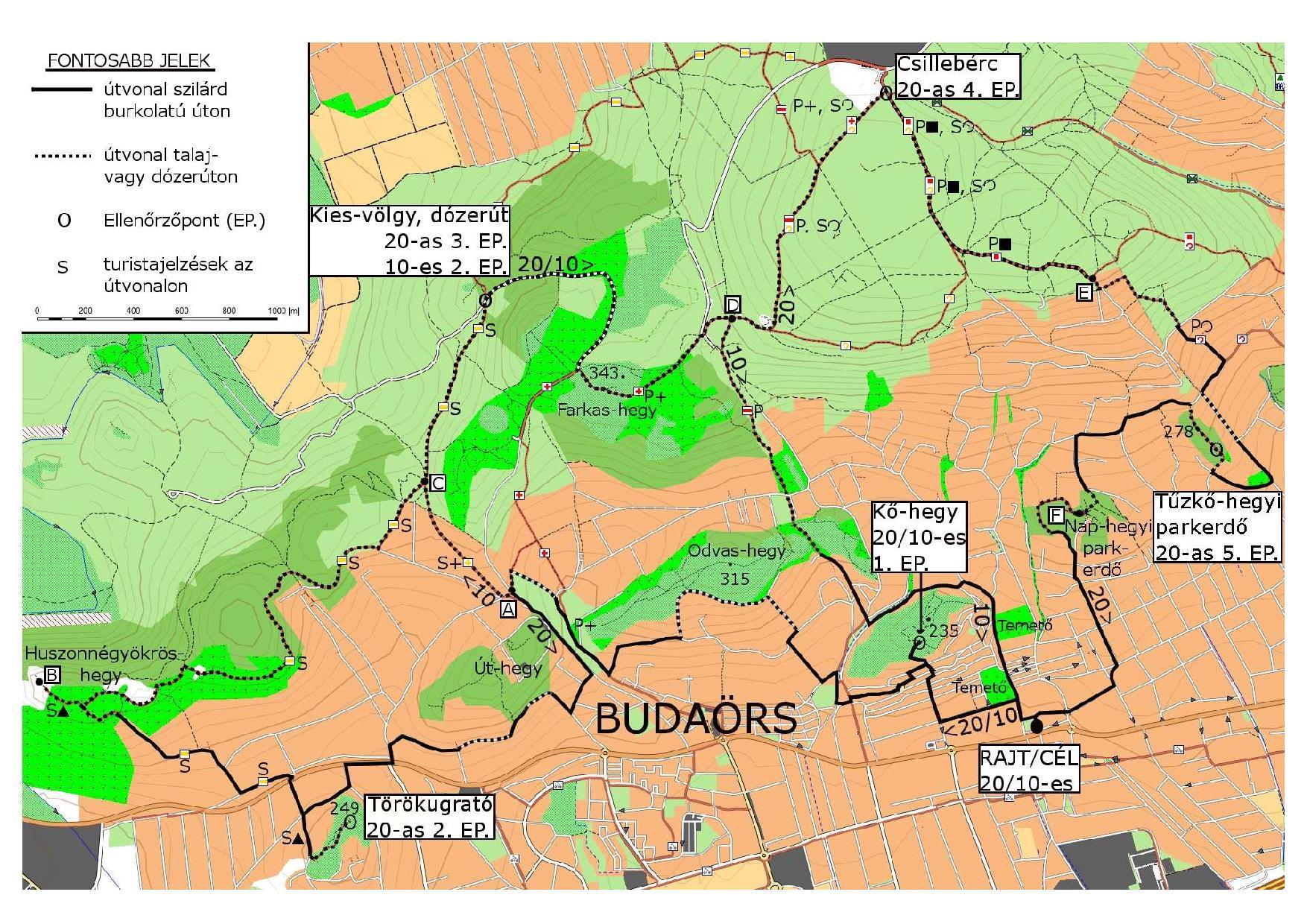 budaörs térkép részletes Budaörsi Dolomitok 20   2015.05.16.